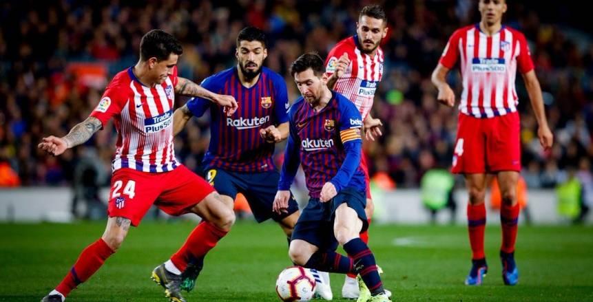 تشكيلة برشلونه الرسمية في مباراة اليوم ضد أتلتيكو مدريد