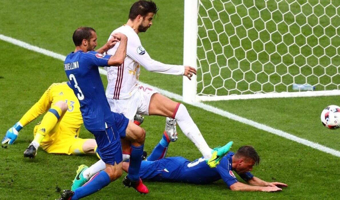 منتخب ايطاليا يحسم لقاء نصف نهائي يورو 2020