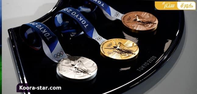 وزن وسعر الميدالية الذهبية أولمبياد طوكيو 2020